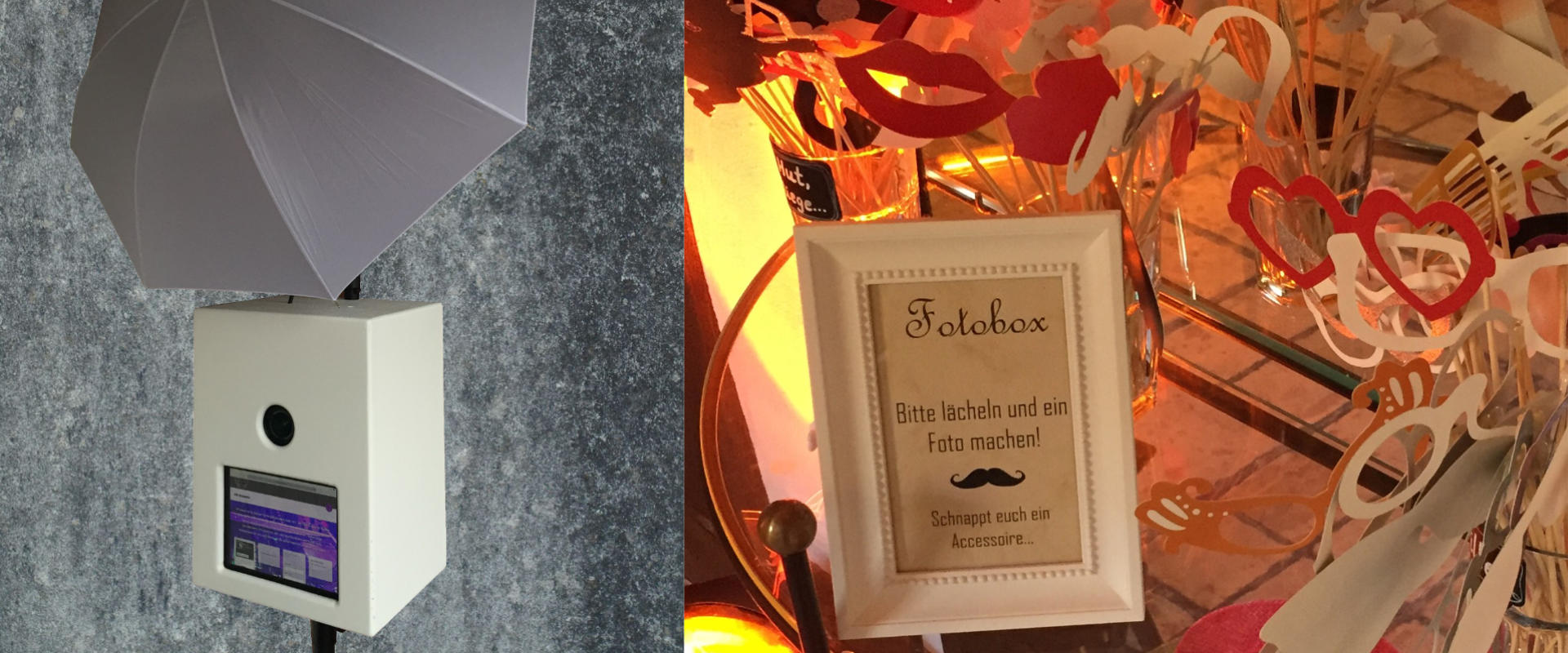 Fotobox Bild der Box